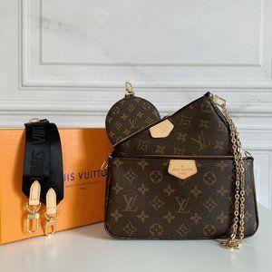 💎✨Authentic✨💎🎀LouisVuitton 💖women's Black Multi  Bag